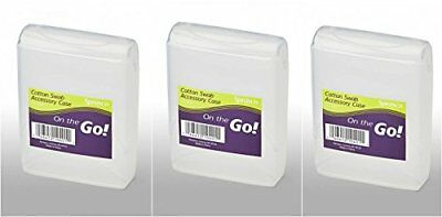 Sprayco Cotton Swab Accessory Case Travel Size Pack Of 12