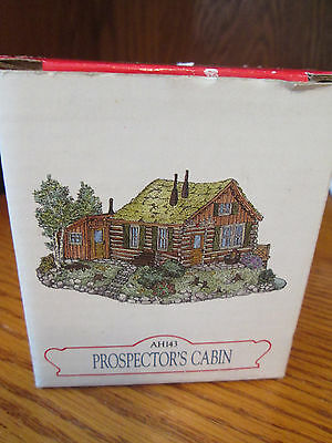 Liberty Falls AH143 Prospector's Cabin 1997 With Box