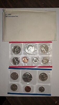 1981 U.S. Mint 13 coins uncirculated set, with 3 P,D,S Susan B. Anthony coins