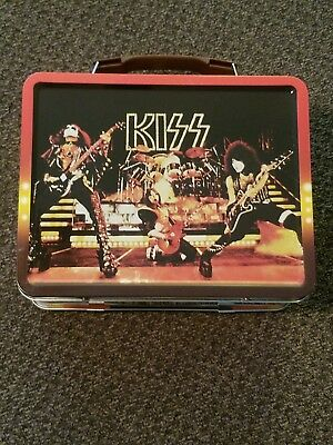 KISS metal lunchbox New Never Used 2015 EE Exclusive