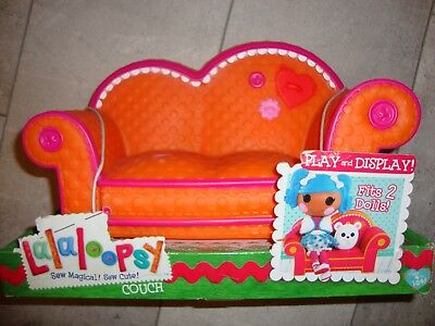 Lalaoopsy - Couch / Sofa orange/pink
