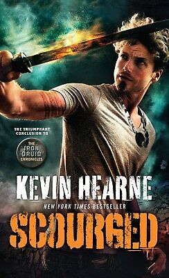Scourged (The Iron Druid Chronicles)By Kevin Hearne(2018, Mass Market Paperback)
