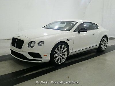 2016 Continental GT S V8 S 6-Speed Automatic