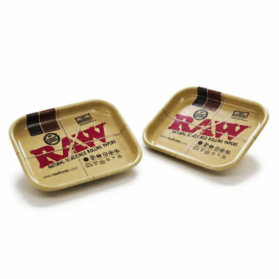 RAW Mini Magnetic Pinner Tray - 2 PINS - RAWTHENTIC Rolling Classic Organic