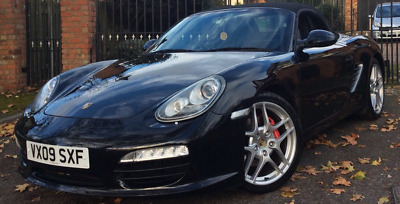 Porsche 987 Boxster 3.4S PDK 09 88k Miles HPI Clear FPSH