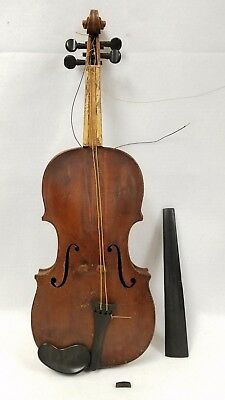 Antique HOPF Violin with Wood Case - Free USA Shipping