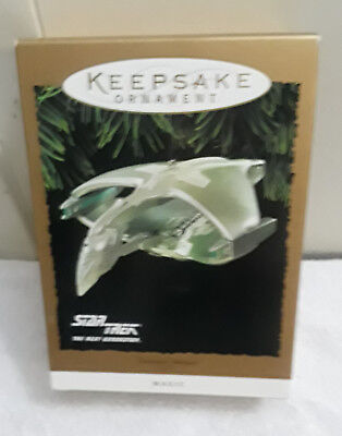 Hallmark  Keepsake  Star Trek Romulan Warbird Ornament 1995