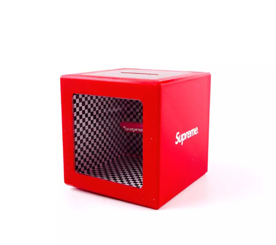 Supreme Illusion Coin Bank Ss18 2018 Accessory Red Box Logo Multi Checker