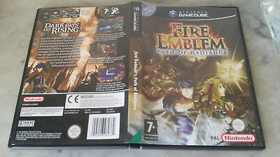 Boite originale Gamecube de Fire Emblem seule uk. Original box fire emblem