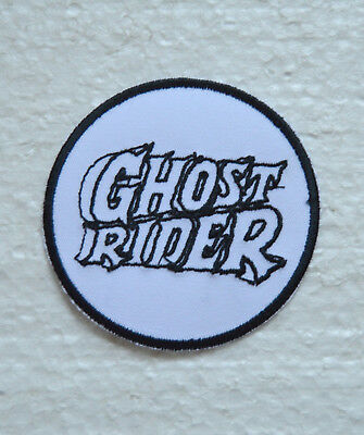 patch, gost rider, broder et thermocollant 8cm
