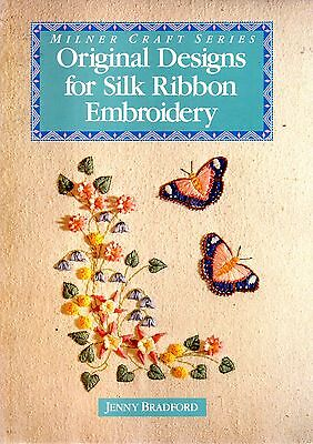 Milner Craft Original designs Silk Ribbon Embroidery Jenny Bradford signed
