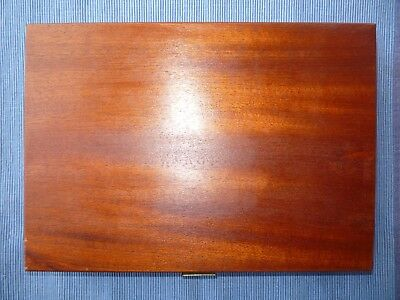 Vintage Wooden Slide Box Holds 175 Slides Boots Brand Boxed