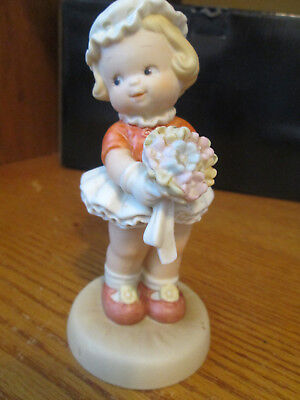 """Enesco Memories Of Yesterday Figurine """"I'M The Girl For You"""""""