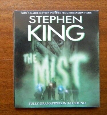 The Mist in 3-D Sound by Stephen King audiobook on CD New/Sealed