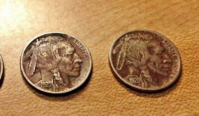 1920 US  BUFFALO NICKEL,  1 Coin, Great Tipping Coin