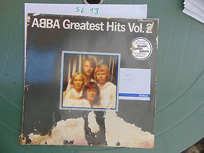 ABBA Greatest Hits Vol.2 Gimme, Gimme..knowing me..Dancing Queen 2344145 1975 LP