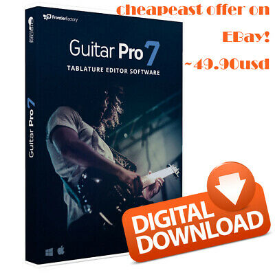 NEW Arobas Music Guitar Pro 7.5 Tablature Editor PC/MAC- Lifetime Key
