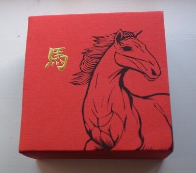 2014 Royal Mint British Lunar Horse £100 Pound Gold Proof Coin Box COA