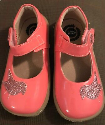 Livie & Luca Pink Patent Leather Mary Jane Toddler Girls SHOES 10