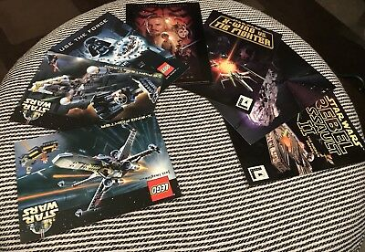 Rare Job Lot Collectible Star Wars Lego, Playstation Episode 1 Post Cards **MINT