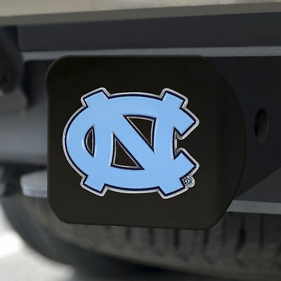 University of North Carolina - Chapel Hill Color Emblem on Black Hitch Cover