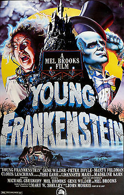Young Frankenstein Movie Poster 1974 | Sizes A4 to A0 UK Seller | E097