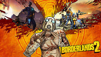 BoarderLands 2 Gaming Poster | Sizes A4 to A0 UK Seller | E002