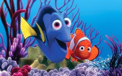FINDING NEMO MOVIE POSTER | SIZES A4 to A0 UK SELLER E189