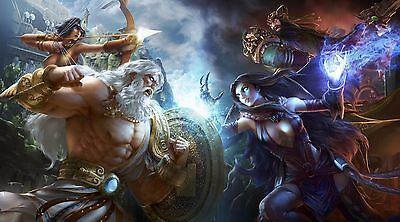 Original Smite Gaming Poster | Sizes A4 to A0 UK Seller | E219
