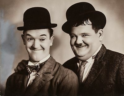 Laurel and Hardy Poster  | Sizes A4 to A0 UK Seller | E014