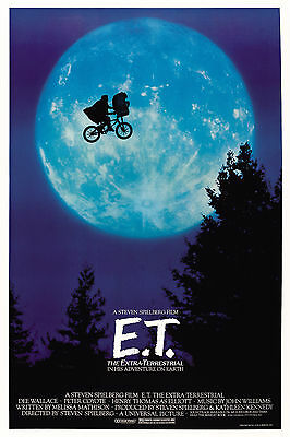 ET MOVIE POSTER WALL ART | Sizes A4 to A0 UK Seller | E045