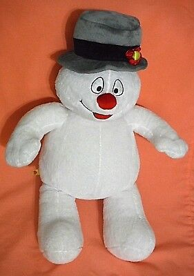 Build A Bear Plush Frosty The Snowman Christmas White With Hat Retired UNSTUFFED