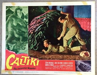 60s Horror! CALTIKI, THE IMMORTAL MONSTER-LC #7-Shows Caltiki in His Full Glory!