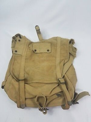 WW2 WWII US U.S. USMC Marines Backpack,Rucksack,Military,Haversack,Original,Bag