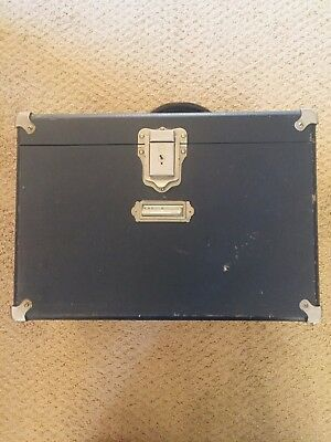 Vintage Antique Spencer Buffalo Microscope With Box Case