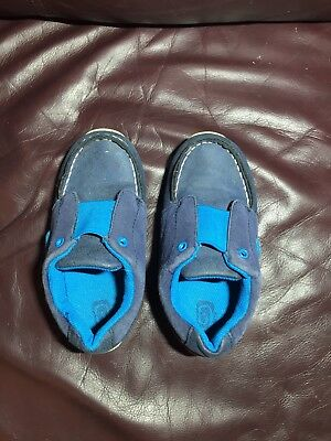 Children's Place Toddler Boys Slip On Boat Shoes Size 10