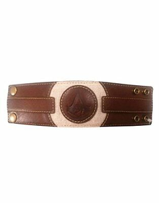Assassins Creed Origins Embossed Crest Wristband One Size Tan (Wb100129Ace) Keyr