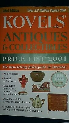 Kovels' Antiques and Collectibles Price List Book 2001 by Ralph & Terry. Kovel