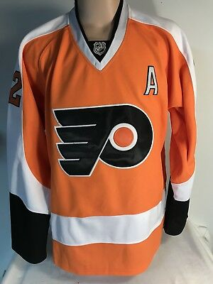 SIMON GAGNE  12 PHILADELPHIA FLYERS REEBOK Center Ice JERSEY SIZE 52 Fight  Strap bda9afccc