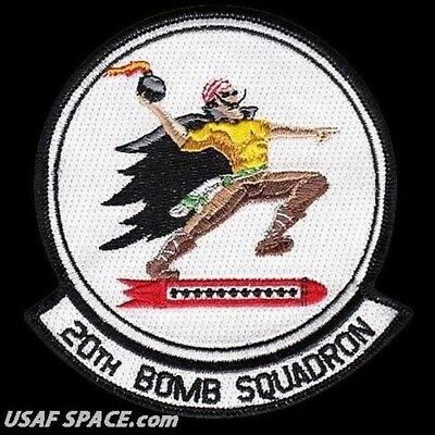 USAF 20th BOMB SQUADRON - B-52 - Barksdale AFB, LA - ORIGINAL AIR FORCE PATCH
