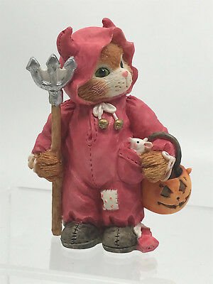 Enesco Calico Kittens YOU'RE MY LITTLE DEVIL Dressed as Devil 1994 625159 BOXED