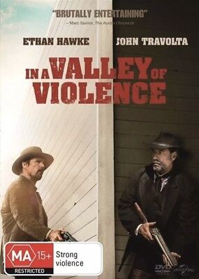 In A Valley Of Violence Dvd John Travolta New & Sealed- Free Postage! Region 4