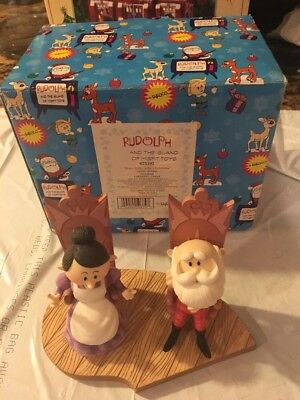 NIB Enesco Rudolph The Island of Misfit Toys Figure Have a Holly Jolly Christmas