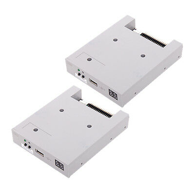 2x SFRM72-FU 720KB USB Floppy Drive Adapter for Industrial Equipments