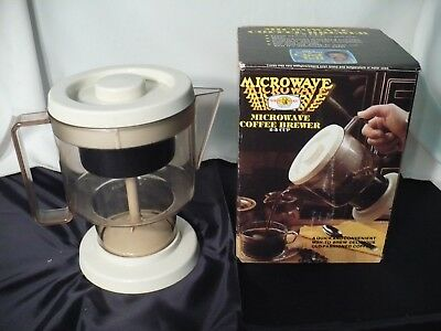 Vintage Microwave Coffee Brewer Percolator 2 To 5 Cups Nordic Ware Made In Usa
