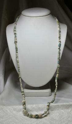 Authentic Ancient Persian Faience Necklace 2000 Years Old c. 3rd-1st Century BC