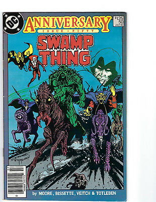 Swamp Thing #50  1st App. Justice League Dark  Undervalued Key Book  CBG 209