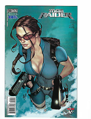 Tomb Raider The Series #33 (Oct 2003) Adam Hughes Cover Art