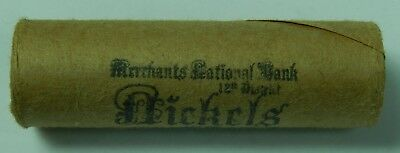 Buffalo V Nickel Roll Liberty Nickels 5c Lot 1883 & 1916 Ends Old US Coins 05