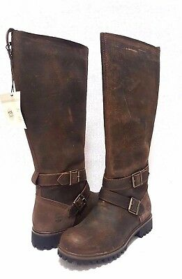 a8797c1c9a87 TIMBERLAND® Women s Wheelwright Tall Buckle Waterproof Boots Size US 6 M  EUR 37